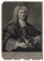 Nicholas Saunderson, by and sold by John Faber Jr, after  John Vanderbank - NPG D27603