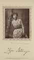 Zeffie Tilbury (Mrs L.D. Woodthorpe) in 'Ruth's Romance', by Herbert Rose Barraud, published by  David Bogue - NPG Ax29205