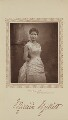 Maude Millett (Mrs Tennant) as Eva Webster in 'The Private Secretary', by Herbert Rose Barraud, published by  David Bogue - NPG Ax29206