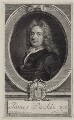 James Puckle, by George Vertue, after  John Closterman - NPG D27611