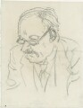 Sir Edwin Lutyens, by Powys Evans - NPG D33411