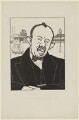 James Henry Thomas, by Powys Evans - NPG D33421