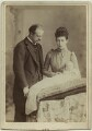 The Duke and Duchess of Fife with their daughter, Princess Maud, by W. & D. Downey - NPG x29772