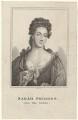 Sarah Pridden (Sally Salisbury), by Robert Grave, after  Sir Godfrey Kneller, Bt - NPG D27663