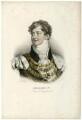 King George IV, by François Séraphin Delpech, after  Zéphirin Félix Jean Marius Belliard, after  Sir Thomas Lawrence - NPG D33344