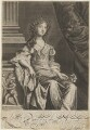 Louise de Kéroualle, Duchess of Portsmouth, by Edward Davis (Le Davis), after  Sir Peter Lely - NPG D9283