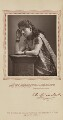 Ellen Lancaster Wallis (Mrs Walter Reynolds) as Adrienne Lecouvreur in 'Adrienne Lecouvreur', by Herbert Rose Barraud, published by  Carson & Comerford - NPG Ax29223