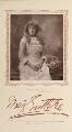 Mary Eastlake as Nance Yeulett in 'Hoodman Blind', by Herbert Rose Barraud, published by  Carson & Comerford - NPG Ax29228