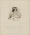 Princess Charlotte Augusta of Wales, by Robert Cooper, published by  Rudolph Ackermann, after  Alfred Edward Chalon - NPG D33513