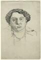Lilian Mary Baylis, by Powys Evans - NPG D33462