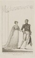 Princess Charlotte Augusta of Wales; Leopold I, King of the Belgians, published by J. Booth, after  Unknown artist - NPG D33525