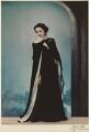 Beatrix Thomson, by Madame Yevonde - NPG x26404