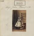 Julia Franghiadi, by Camille Silvy - NPG Ax52074
