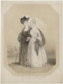 Princess Victoria, Duchess of Kent and Strathearn; Queen Victoria, published by J. McCormick, after  William Drummond - NPG D33561