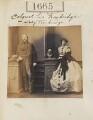 Sir Thomas St Vincent Hope Cochrane Troubridge, 3rd Bt, by Camille Silvy - NPG Ax51057