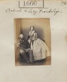 Sir Thomas St Vincent Hope Cochrane Troubridge, 3rd Bt; Louisa Jane (née Gurney), Lady Troubridge, by Camille Silvy - NPG Ax51059