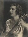 Madame Guilhermina Suggia, by Bertram Park - NPG x131923