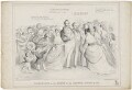 Queen Victoria; Louis Philippe; Prince Albert of Saxe-Coburg-Gotha, by H.H., published by  W. Soffe - NPG D33587