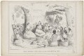 'The Royal Pic Nic in the Forest of Eu' (group including Queen Victoria; Louis-Philippe I; Prince Albert of Saxe-Coburg-Gotha), by H.H., published by  W. Soffe - NPG D33588