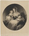 Queen Victoria; Victoria, Empress of Germany and Queen of Prussia; King Edward VII, by Samuel Cousins, published by  Henry Graves & Co, and published by  Goupil & Vibert, and published by  James Ryman, after  Sir Edwin Henry Landseer - NPG D33593