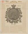 Queen Victoria, published by Bemrose & Sons - NPG D33613