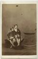 Prince Leopold, Duke of Albany; Prince Arthur, 1st Duke of Connaught and Strathearn, by John Jabez Edwin Mayall - NPG x45774