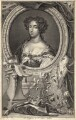 Queen Mary II, by Jacobus Houbraken, after  Caspar Netscher - NPG D9291