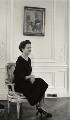 Nancy Mitford, by Tom Blau - NPG x131946