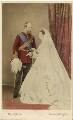 Prince Christian of Schleswig-Holstein; Princess Helena Augusta Victoria of Schleswig-Holstein, by John Jabez Edwin Mayall - NPG Ax46735