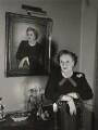 Dame Barbara Hamilton Cartland, by Tom Blau - NPG x131947