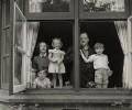 Richard Dimbleby and his family, by Tom Blau - NPG x131948