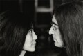 Yoko Ono; John Lennon, by Tom Blau - NPG x131955