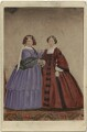Princess Victoria, Duchess of Kent and Strathearn; Princess Alice, Grand Duchess of Hesse, by Messrs Day - NPG Ax46718