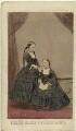 Princess Helena Augusta Victoria of Schleswig-Holstein; Princess Louise Caroline Alberta, Duchess of Argyll, by John Jabez Edwin Mayall - NPG Ax46710