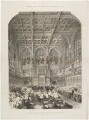 'Queen Victoria opening her seventh Parliament' (Queen Victoria), by Mason Jackson, published by  Illustrated London News - NPG D33639