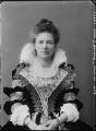 Margaret Elizabeth Child-Villiers (née Leigh), Countess of Jersey as Anne of Austria, by Alexander Bassano - NPG x31255