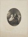 Queen Victoria; Prince Albert Victor, Duke of Clarence and Avondale, by William Holl Jr, published by  John Mitchell, after  (Cornelius) Jabez Hughes - NPG D33644