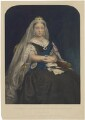 Queen Victoria, by Samuel Cousins, published by  Dickinson Brothers, after  Lowes Cato Dickinson - NPG D33649