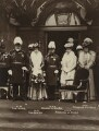 King Edward VII; Queen Alexandra; King George V; Queen Mary; Princess Victoria of Wales, by and published by Mrs Albert Broom (Christina Livingston) - NPG x132093