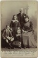 The Duke and Duchess of Connaught with their children, by Hughes & Mullins - NPG x36196