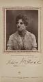 Jessie Millward (Mrs John Glendinning) as Dora Vane in 'The Harbour Lights', by Herbert Rose Barraud, published by  Carson & Comerford - NPG Ax29391