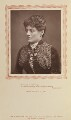 Sophie Eyre (née Ryan), by Herbert Rose Barraud, published by  Carson & Comerford - NPG Ax9293