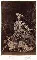 Adelina Patti as Martha in 'Martha', by Camille Silvy - NPG x12680