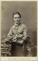 Constance Sarah Gibbons (née Crane), by Thomas Fall - NPG Ax47012