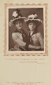 Maude Millett (Mrs Tennant) as Ida; Annie Hughes as Lotty in 'Two Roses', by W. & D. Downey, published by  Strand Publishing Company - NPG Ax9309
