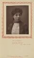 Fanny Whiteside Brough (Mrs Richard Smith Boleyn), by Herbert Rose Barraud, published by  Strand Publishing Company - NPG Ax9321