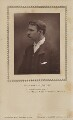 Jerome Klapka Jerome, by Herbert Rose Barraud, published by  Eglington & Co - NPG Ax9370