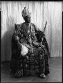 Ladapo Samuel Ademola II, King of Abeokuta, by Hay Wrightson - NPG x132167