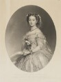 Victoria, Empress of Germany and Queen of Prussia, by Samuel Cousins, published by  Paul and Dominic Colnaghi & Co, after  Franz Xaver Winterhalter - NPG D33814