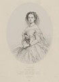 Victoria, Empress of Germany and Queen of Prussia, by Richard James Lane, printed by  M & N Hanhart, after  Franz Xaver Winterhalter - NPG D33815